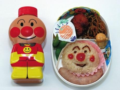 親子連れや修学旅行生に大人気のアンパンマン弁当 ©やなせたかし/フレーベル館・TMS・NTV