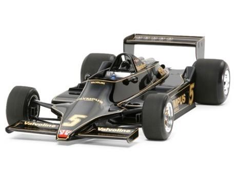 タミヤ新橋店の年間売上トップに輝いた「ロータス タイプ79 1978」美しいボディデザインとボディカラーから「ブラック・ビューティー」とも呼ばれた