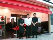 新橋駅前ビルに「靴みがき本舗」新業態-仏カフェ風でイメージ覆す