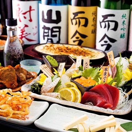 日本酒だけでなく、日本酒のアテも多数用意する