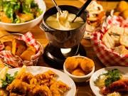 虎ノ門のカジュアルレストラン「BeBu」 期間限定でチーズフォンデュセット提供
