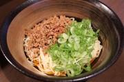 新橋に広島汁なし坦々麺の店「山椒家」 ライス追加で坦々ライスも