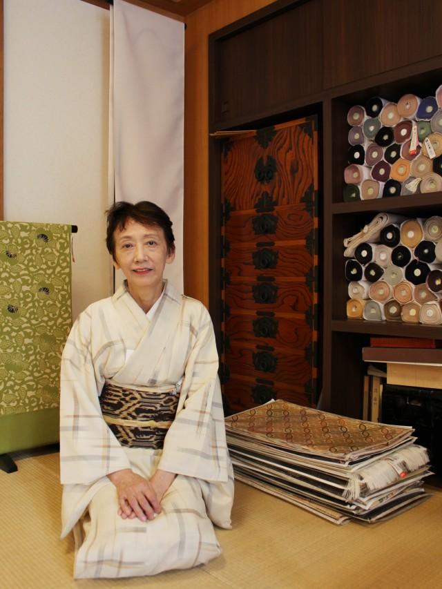 店主の吉井恭子さん