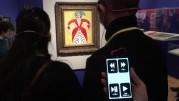 汐留ミュージアムで視覚障がい者向け実証実験 東京五輪を見据え