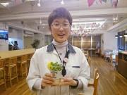 新橋で岡山産「岡山パクチー」を楽しむ料理 生ジャンボマッシュルームも