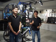 新虎通りにロードバイク専門店 日本初の正規取扱ブランドも