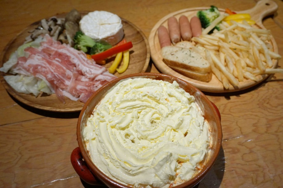 「ふわふわチーズ鍋&選べる具材セット」