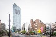 新虎通りに巨大壁画アート「MURAL PROJECT」 既存のビル生かし