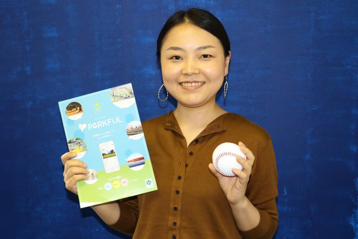 サイトの運営を担当する梅村夏子さん