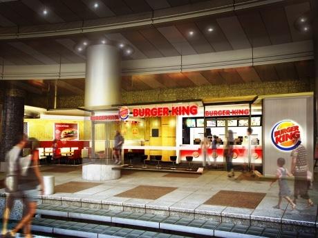 西新宿に、日本再上陸のバーガーキング1号店がオープン
