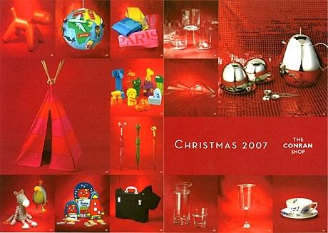 多数展開されているコンランショップの本場クリスマスギフト