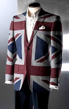英国らしさ満点の「ケント&カーウェン」のユニオンジャックジャケット