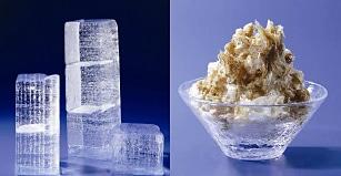 大変な重労働と厳しい温度管理によって作られる天然氷をかき氷に使用した「四代目徳次郎のカキ氷」