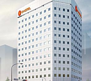 副都心線東新宿駅そばにオープンした13階建てのイーホテル東新宿