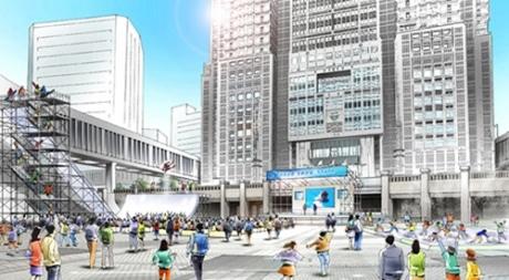 スノースポーツを体感する「Tokyo Snow Style in 都庁」のイメージ画像