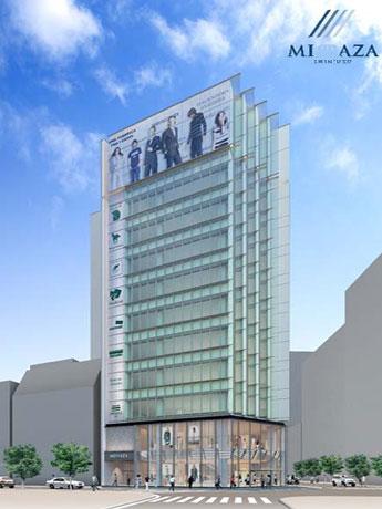 トップショップは「ミラザ新宿」の地下1階~2階に出店する