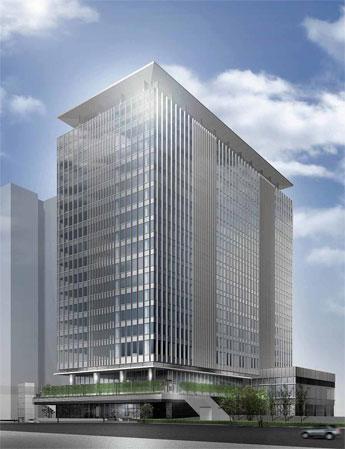 JR南新宿ビルの概観完成予想図