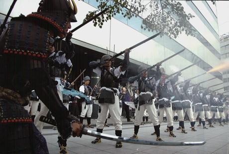 今回30人の打ち手が参加する「江戸幕府 鉄砲組百人隊出陣」