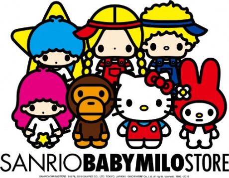 SANRIO CHARACTERS ©1976, 2010 SANRIO CO., LTD. TOKYO. JAPAN(L) ©NOWHERE Co., Ltd. All rights reserved. 1993/2010