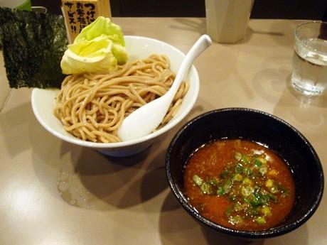 海老つけ麺(750円)