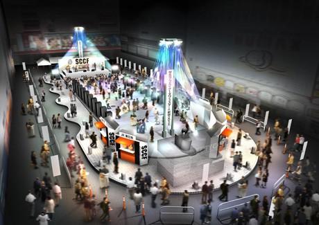 シネシティ広場イベントイメージ図