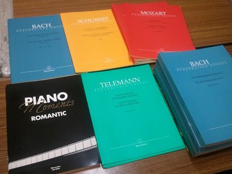 ドイツ・ベーレンライター社出版の輸入楽譜