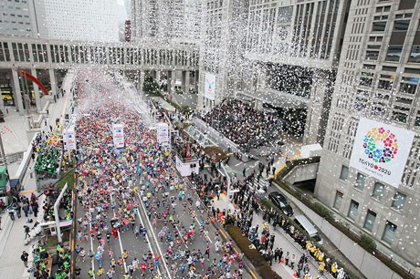 「東京マラソン2012」の様子 ©TOKYO MARATHON FOUNDATION