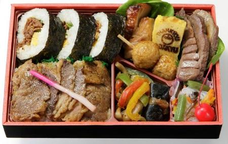 『味の梅ばち』行楽弁当 1,050円