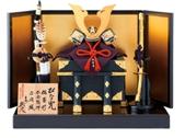 平安武久作の「兜飾り一式」(262,500円)