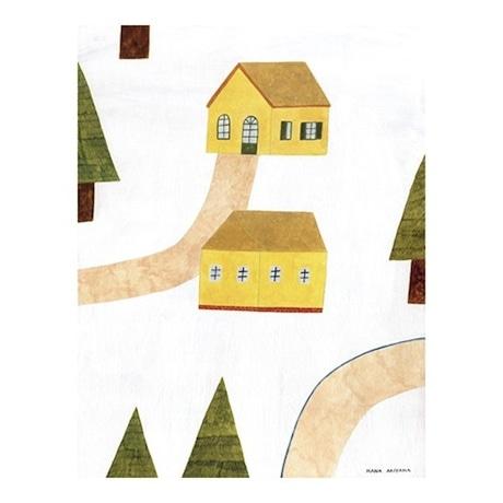 a pair of houses (C) Hana Akiyama