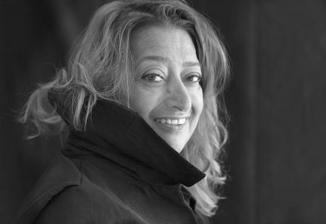 ザハ・ハディドさん photo: Brigitte Lacombe (C)Zaha Hadid Architects