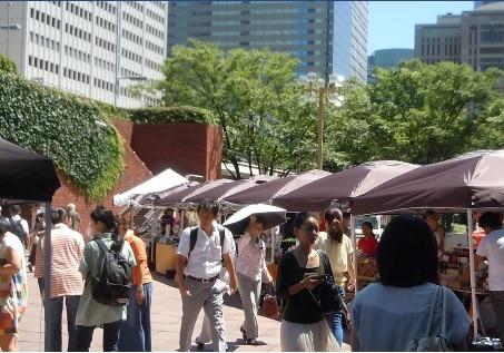 一時閉店するが、新宿区内でまた再開を予定している「新宿マルシェ」