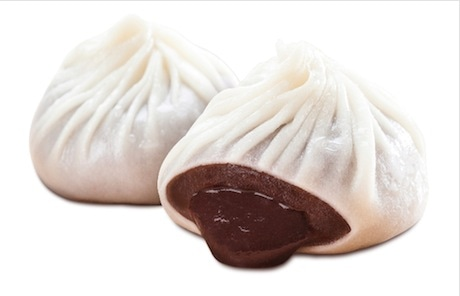 バレンタイン期間限定で登場する鼎泰豐(ディンタイフォン)のチョコレート小龍包