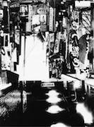 新宿で吉田昌平さん展覧会 森山大道さんの写真集を丸ごと1冊コラージュ