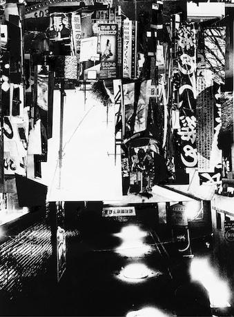 吉田昌平さんのコラージュ作品。会場で先行発売される「Shinjuku(Collage)」より
