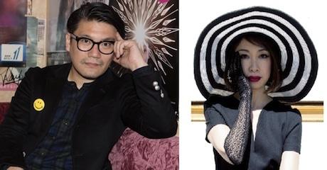 「ISETAN BON DANCE」をプロデュースするデザイナーの丸山敬太さんとゲストの野宮真貴さん
