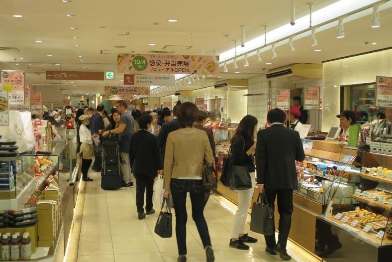 来年には第3弾のリニューアルが行われる予定の小田急百貨店本館地下2階