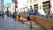 新宿通りの車道に「シンジュク ストリート シーツ」 ベンチ設け情報発信も