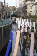 新宿の落合・中井の街を染め物が彩る「染の小道」が10周年