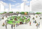 新宿新南エリアで「新宿南グリーンラビリンス」 エコ考える都市型屋外図書館