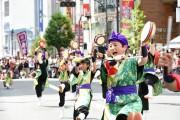 これまでに開催された「新宿エイサーまつり」の様子