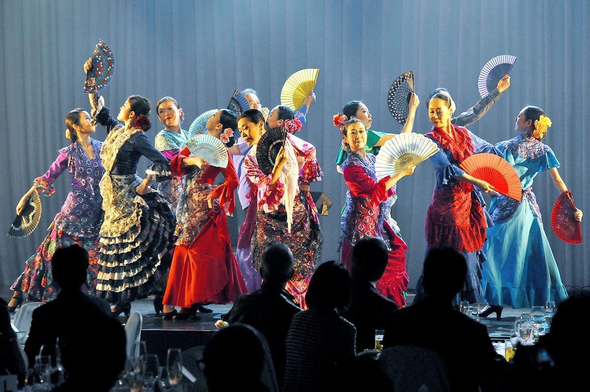 「新宿まちフェス2018」で行われる「WORLD DANCE STREET」に参加する「日本フラメンコ協会」