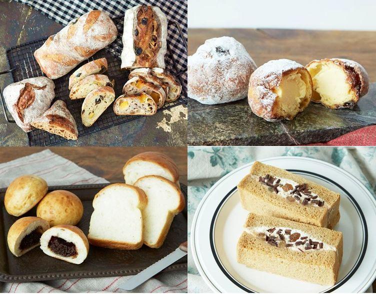 「NEWoMan」各パン店などが提供する限定パン(イメージ)