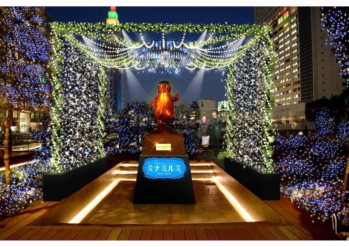 「Suicaのペンギン広場」イルミネーションのイメージ