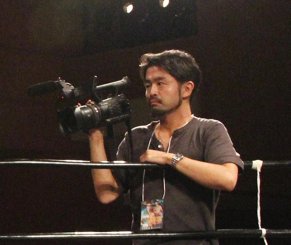 「東京ドキュメンタリー映画祭」で上映される「破天荒ボクサー」を監督した武田倫和さん