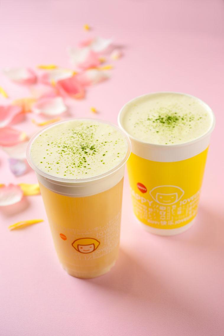 「happylemon京王新宿店」が提供する「ソルティチーズ四季春茶」