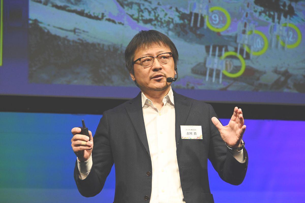 「スタートアップ大賞」に選ばれたPicoCELAの古川浩社長