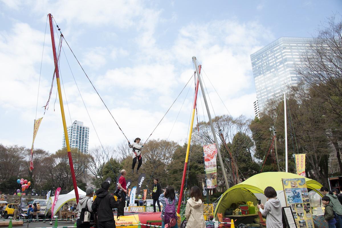 これまでに開催された「TOKYO outside Festival」の様子