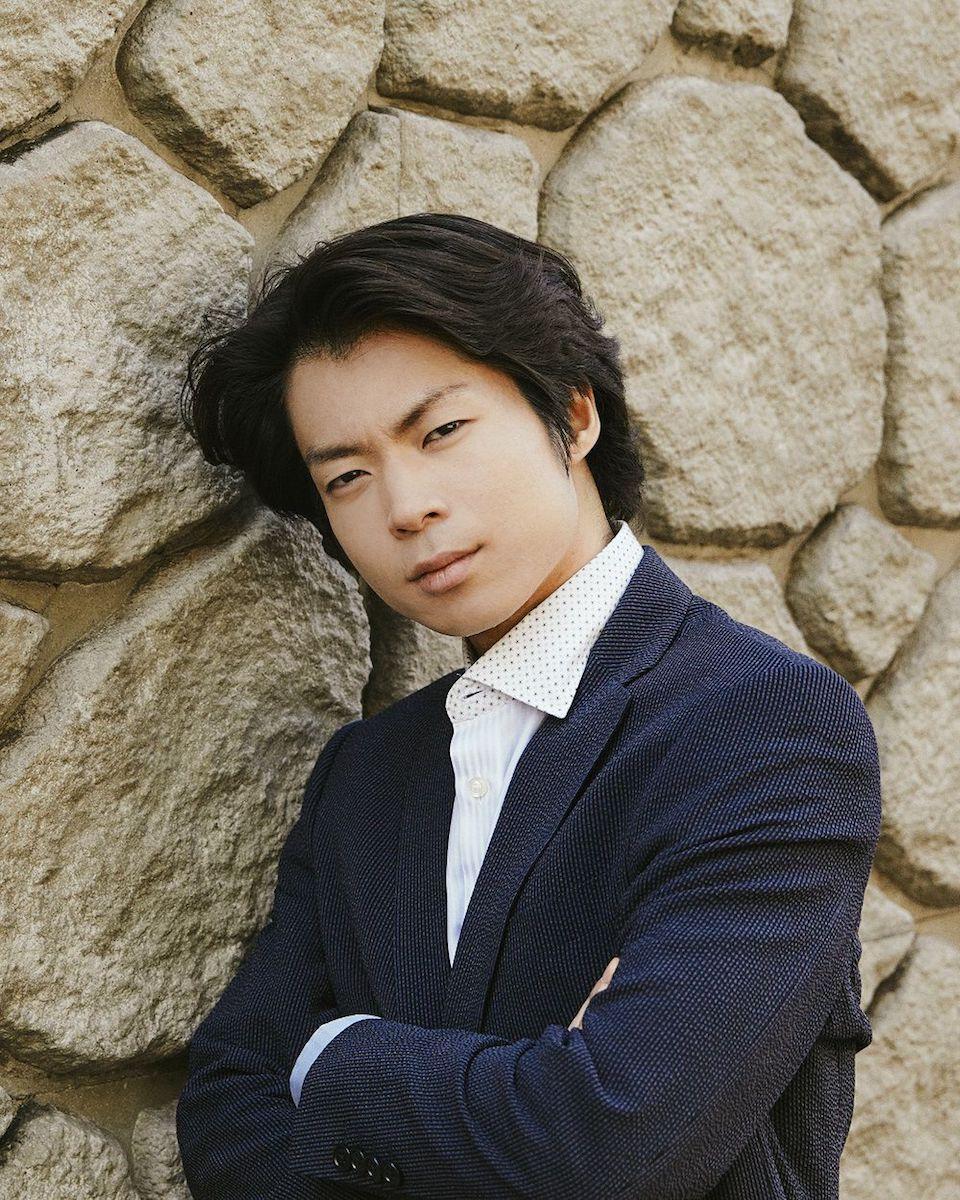 トークイベントに登壇する町田樹さん ©吉松伸太郎