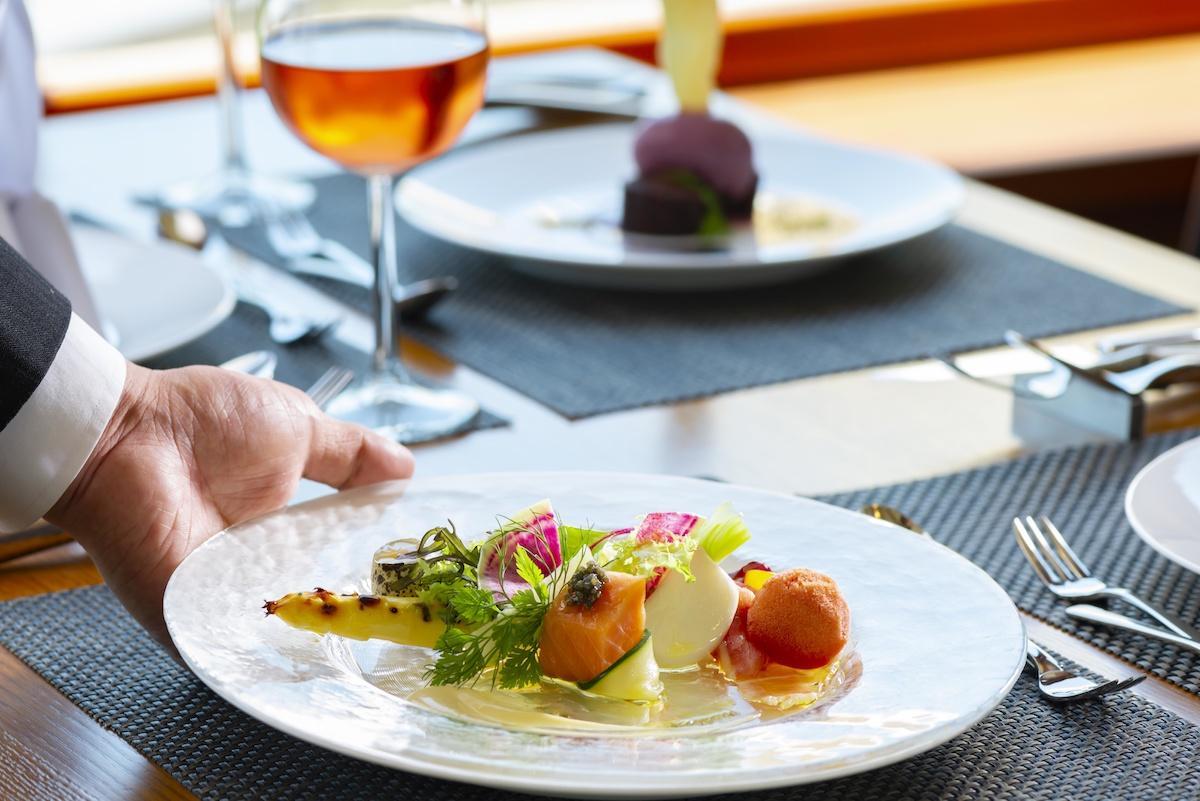 各地の和食材を取り入れたフランス料理が楽しめる「フランス レストランウィーク」(イメージ)